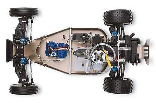 Traxxas Nitro Buggy Chassis