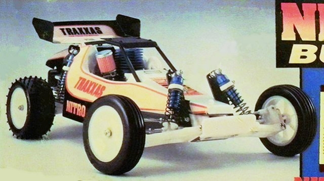 Traxxas Nitro Buggy - 1:10 RC