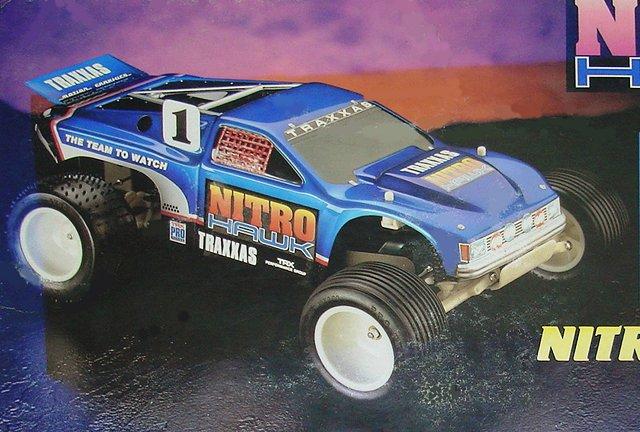Traxxas Nitro Hawk - 1:10 Nitro RC Truck