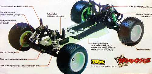 Traxxas SRT Chassis