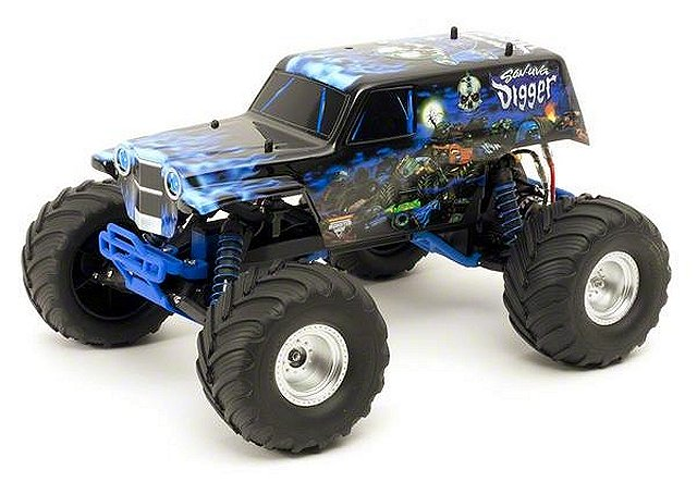 Traxxas Son-uva Digger - 1/10 Electric RC Monster Jam Truck