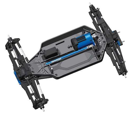 Traxxas Stampede 4x4 VXL Chassis