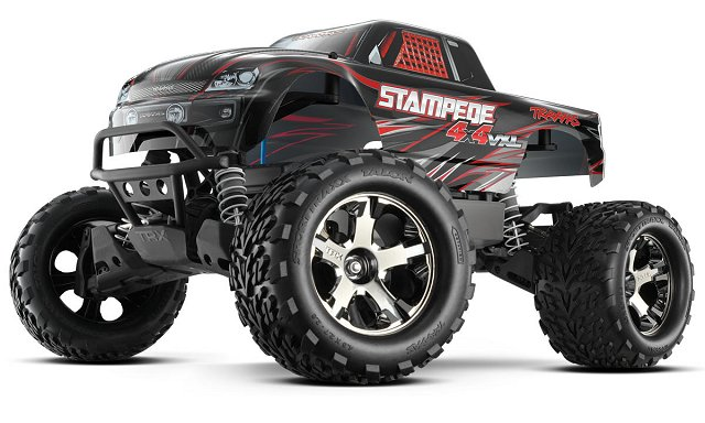Traxxas Stampede 4x4 VXL - 1:10 Electric RC Monster Truck
