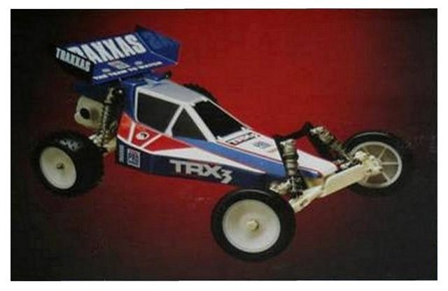 Traxxas TRX-3 - 1:10 Electric RC Buggy