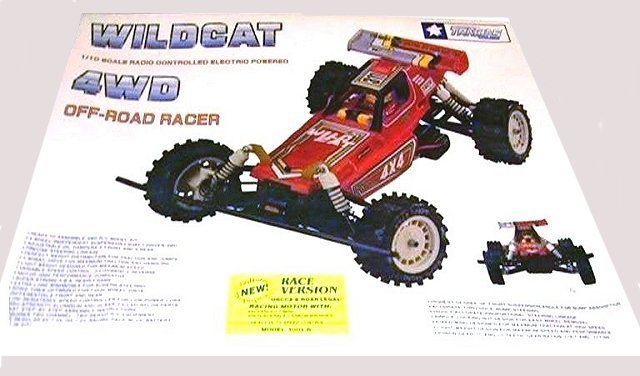 Traxxas Wildcat - 1:10 Electric RC Buggy