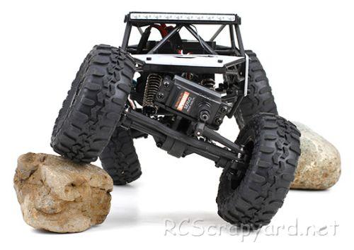 Vaterra SlickRock Rock Crawler Chassis