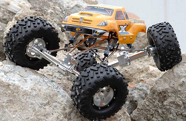 XTM X-Crawler - 1/10 Scale Rock Crawler