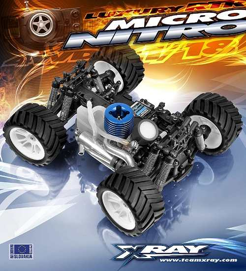 Xray NT18MT Chassis