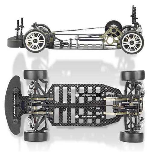 Xray T1-Evo2 Pivot Ball Chassis