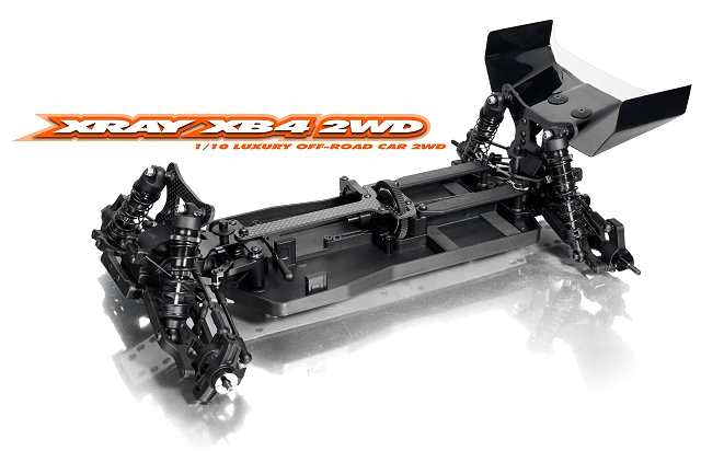 Xray XB4 - 2WD Chassis - 1:10 Electric RC Buggy