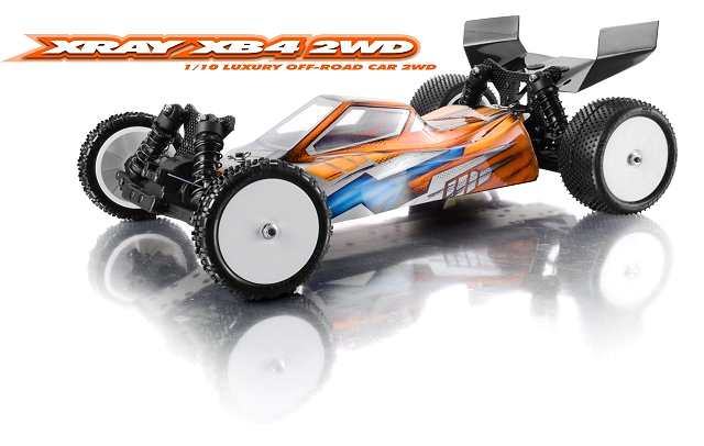 Xray XB4 - 2WD - 1:10 Electric RC Buggy