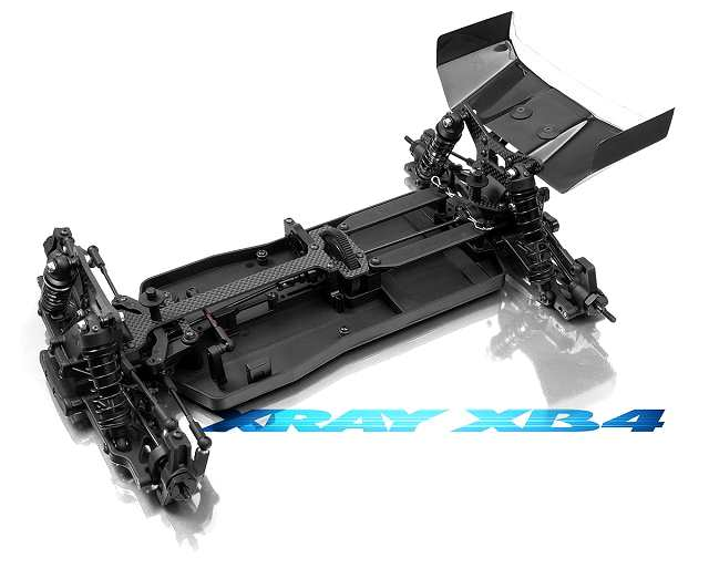 Xray XB4 - 4WD Chassis - 1:10 Electric RC Buggy