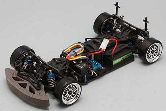 Yokomo D-Max - 1:10 Electric DP Drift Car