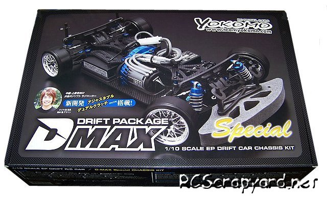 Yokomo D-Max Special - 1:10 Electric DP Drift Car