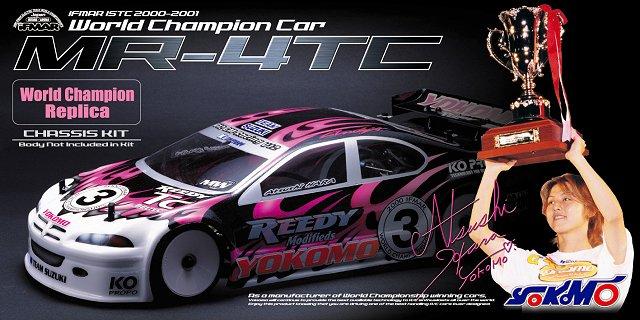 Yokomo MR4TC World Champion Replica - 1:10 Electric Touring Car