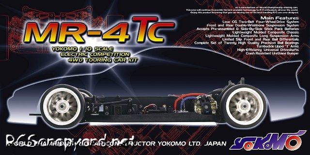 Yokomo MR4TC - 1:10 Electric Touring Car