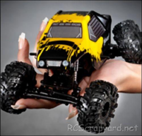 RCTRAX MiniQLO Rock Crawler Chassis