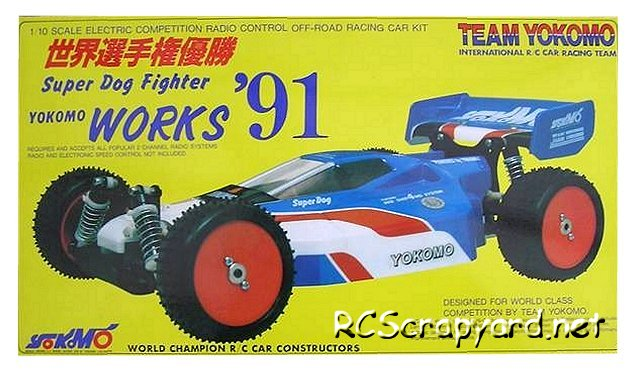 Yokomo Super Dogfighter Works 91 - 1:10 Electric Buggy