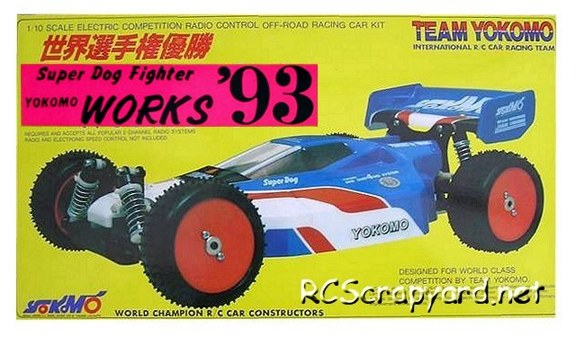 Yokomo Super Dogfighter Works 93 - 1:10 Electric Buggy