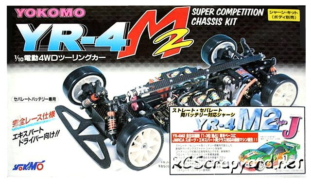 Yokomo YR-4 M2 Type J - 1:10 Electric Touring Car