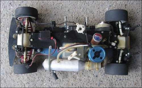 Yokomo YR4 GP Chassis
