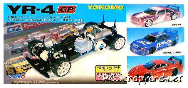 Yokomo YR-4 GP - 1:10 Nitro On Road
