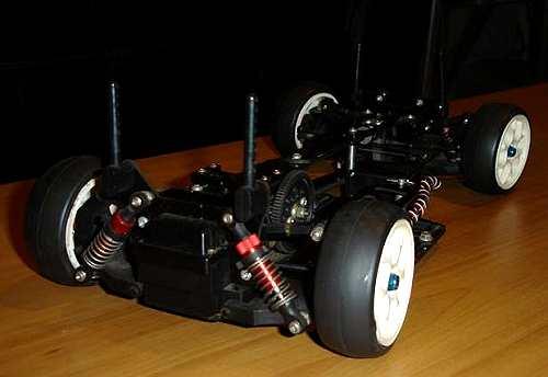 Yokomo YR4-M Chassis