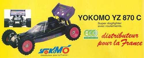 Yokomo YZ-870c Super Dogfighter