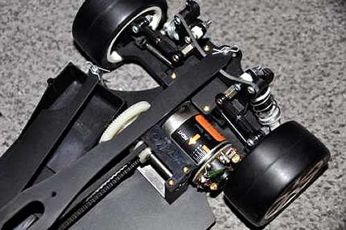 Yokomo YR4-K2 Chassis