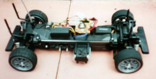 Tamiya TL-01 Opel V8 1