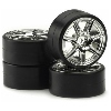 RC Wheel and Tire Set