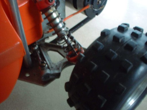 Kyosho Scorpion Rear Suspension