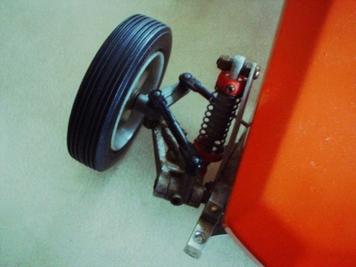 Kyosho Scorpion Front Suspension